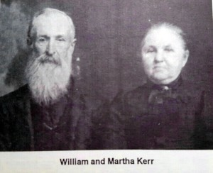 William Ward and Martha Kerr